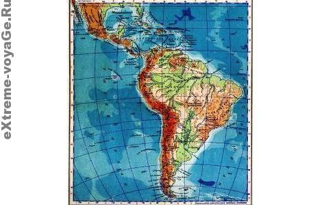 Общие сведения: Южная Америка