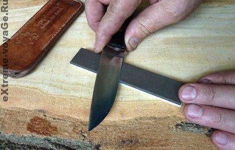 Острота ножа в походе - это важно