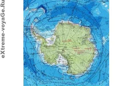 Общие сведения: Антарктида
