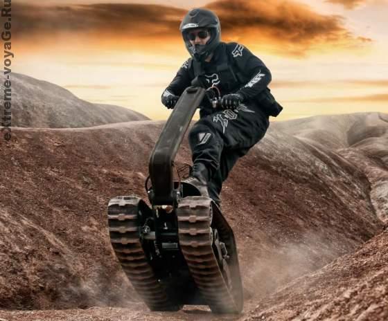 DTV Shredder – экстремальный гусеничный мото-вездеход