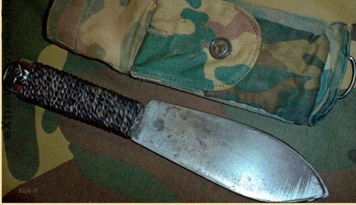 Как очистить нож от ржавчины в полевых условиях