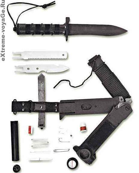 Комплект выживания многофункционального ножа НВ-1–01