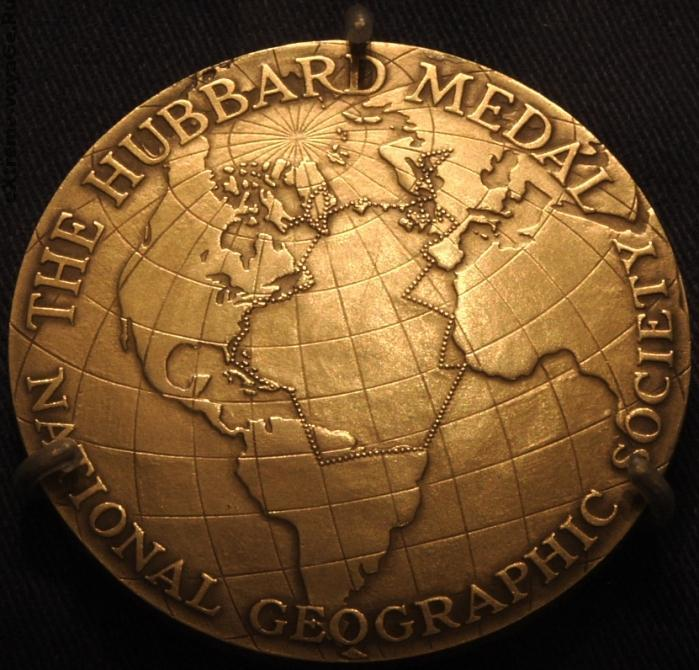 """Медаль """"Национальная География"""""""