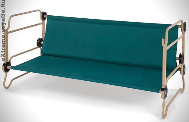 Портативные двухярусные кровати -трансформерыFABB в виде дивана