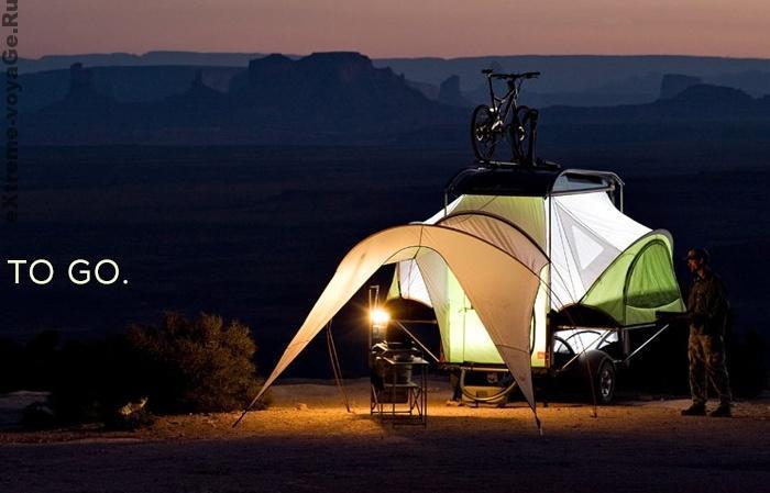 Палатка - прицеп Sylvansport Go Camper