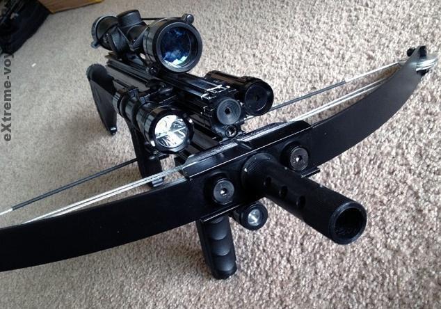 Снайперский тактический многозадачный арбалет M4 180lb