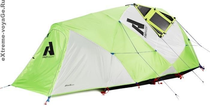 Палатка с солнечной батареей Eddie Bauer Power Katabatic