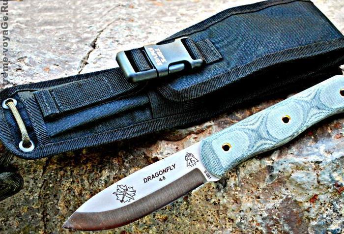Нож для бушкрафта Dragonfly 4.5 Knife с ножнами