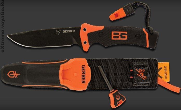 Нож для выживания с ножнами Bear Grylls Ultimate Pro