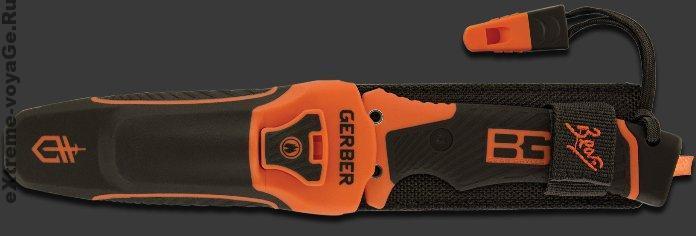 Нож для выживания в ножнах Bear Grylls Ultimate Pro