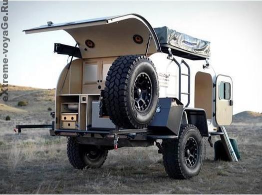 Прицеп - автодом на колесах для экспедиций Moby1 XTR