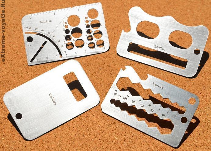Набор инструментов: универсальный портативный Tuls в кармане