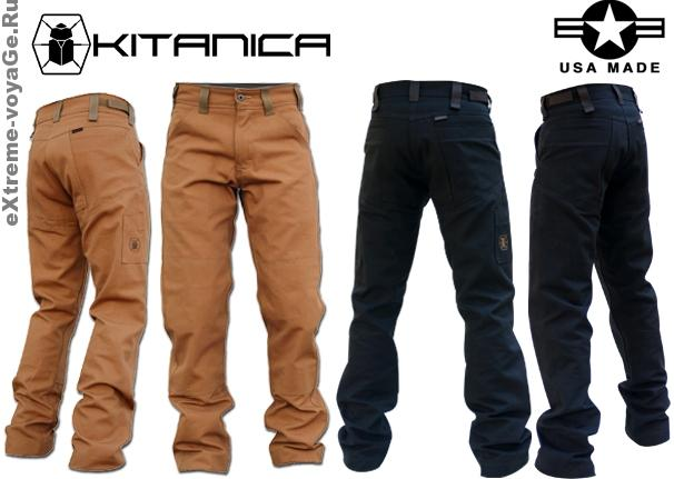 Брюки для походов и приключений Kitanica Brush Pants