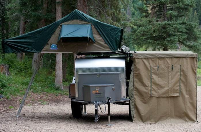 Moby1 XTR с 2 внешними палатками