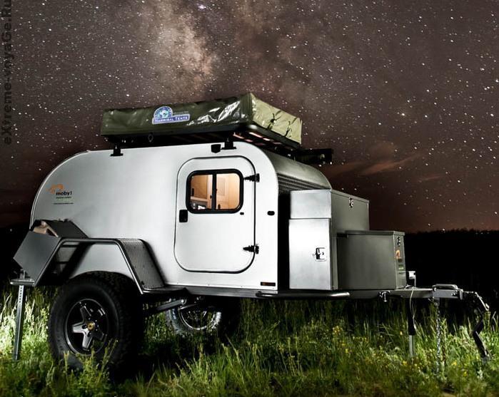 Moby1 XTR под звездным небом (монтаж)