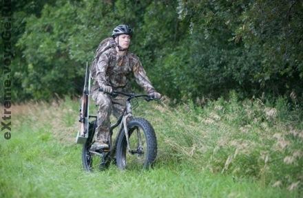 Горный экстрим-велосипед Cogburn CB4 на охоте
