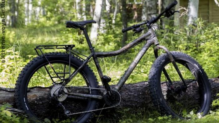 Горный велосипед Cogburn CB4 в лесу