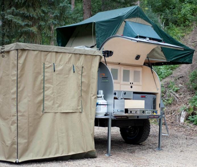 Moby1 XTR имеет все, что нужно для походной жизни