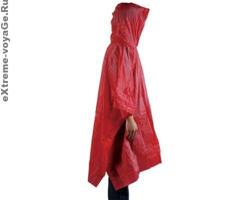 Водонепроницаемая накидка – пончо с капюшоном Rain Poncho