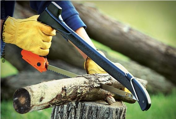 Многозадачный «лесной» топор - мультитул Zippo Woodsman