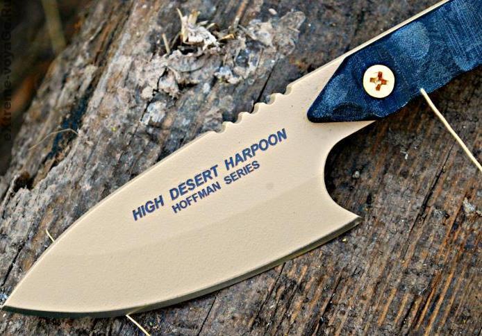 Клинок гарпуна - метательного ножа High Desert Harpoon