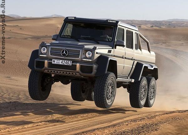 Mercedes-Benz G 63 AMG: супер – внедорожник 6х6