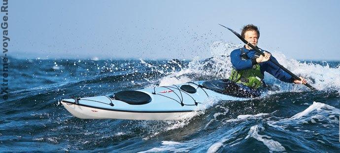 Складная портативная лодка - каяк Tequila от Point 65N