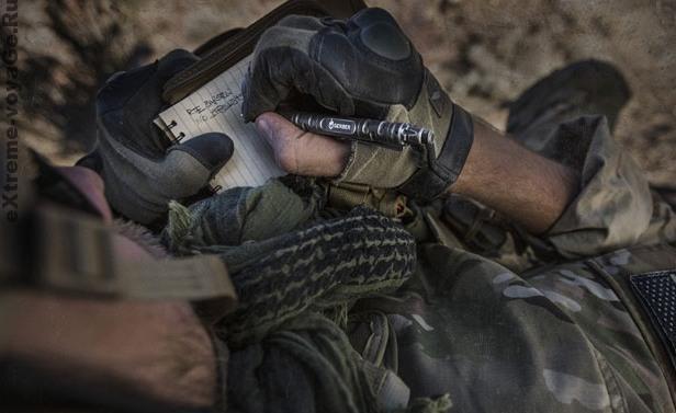Использование тактической ручки Impromptu Tactical Pen в полевых условиях