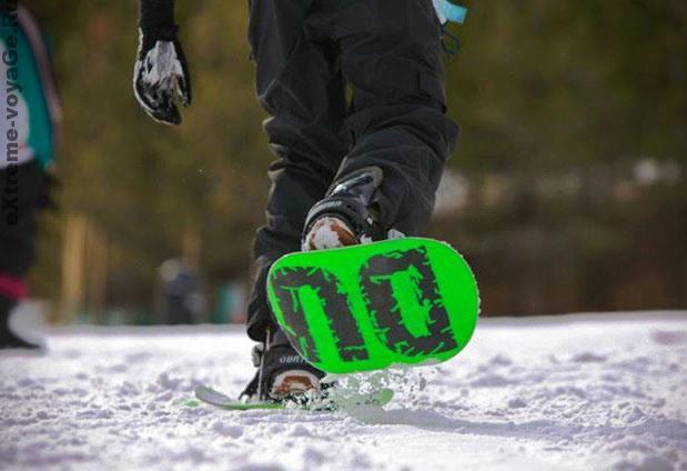 Двойной сноуборд -снегоступы Dual Snowboards