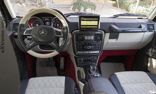 Водительское место Mercedes-Benz G 63 AMG