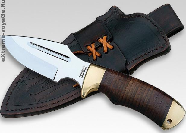 Оригинальный нож для охоты и выживания DUK Bushmate