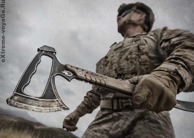 Тактический боевой топор-томагавк Gerber Downrange Tomahawk