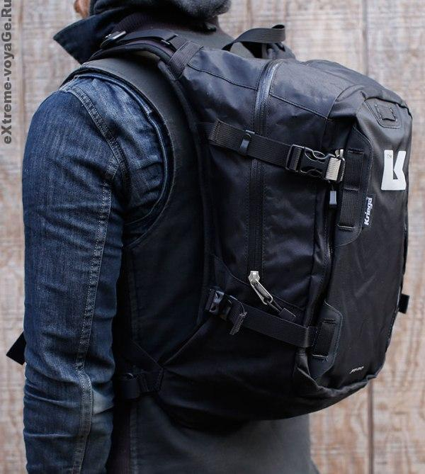 Моторюкзак для байкеров Kriega BackPack R20 с гидрокарманом