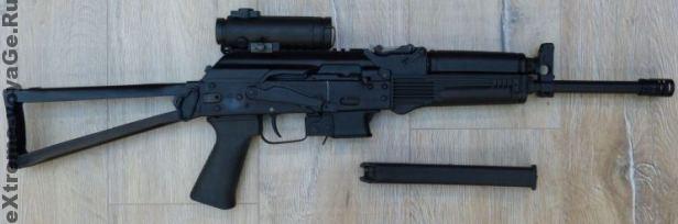 Магазин самозарядного карабина Сайга-9 вмещает 10 патронов