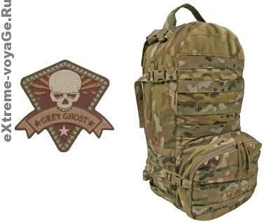 Легкий штурмовой гидро-рюкзак Grey Ghost Wraith Pack