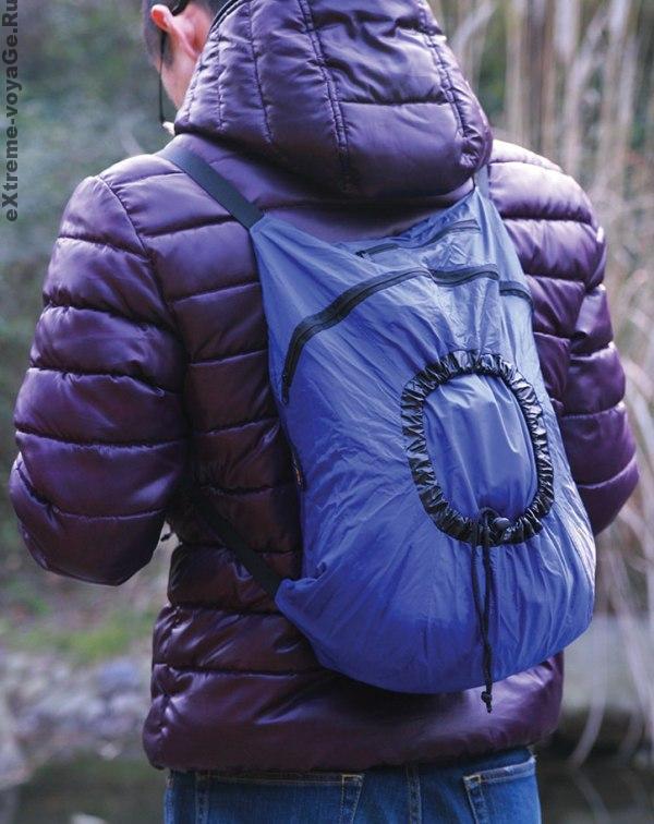 Easy Backpack в походном состоянии