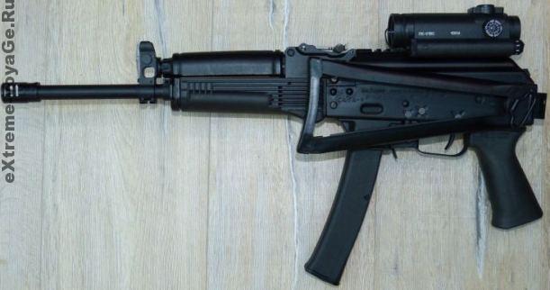 Сайга-9: карабин под патрон 9х19 для самозащиты