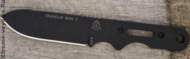 Нож для выживания Travelin Man 2