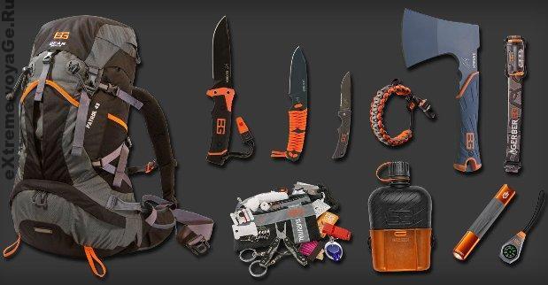 Bear Grylls Mountain Pack: набор для выживания от Gerber