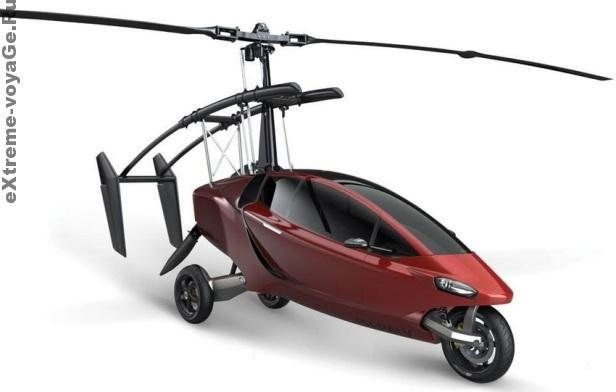 Летающая машина Helicycle для путешествий