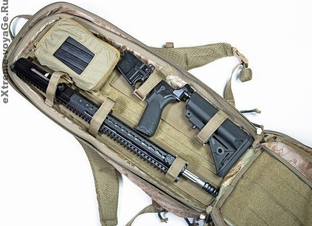 Рюкзак для скрытной переноски винтовки LBT 2VA Covert Pack