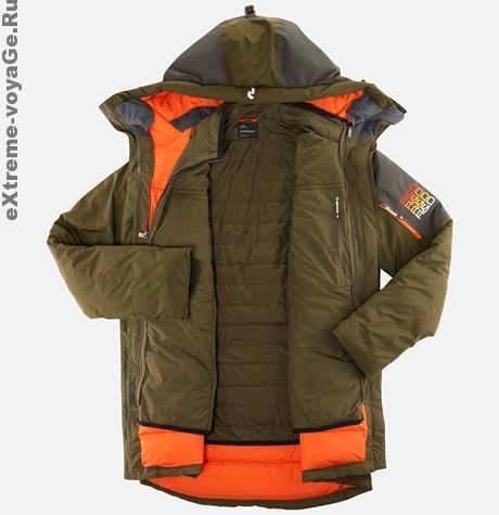 Куртка парка зимняя экскурсионная Excursion Parka