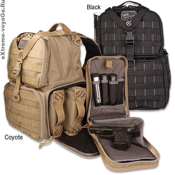 Тактический рюкзак для оружия NRA Pistol Backpack