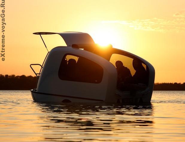 Плавающий кемпинговый автодом - амфибия Seal Ander