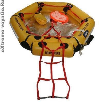 Надувной спасательный плот для выживания на воде SOS 2 Person