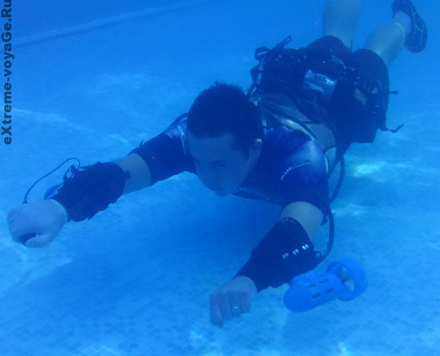 Ручной подводный мини буксировщик Underwater Jet Pack
