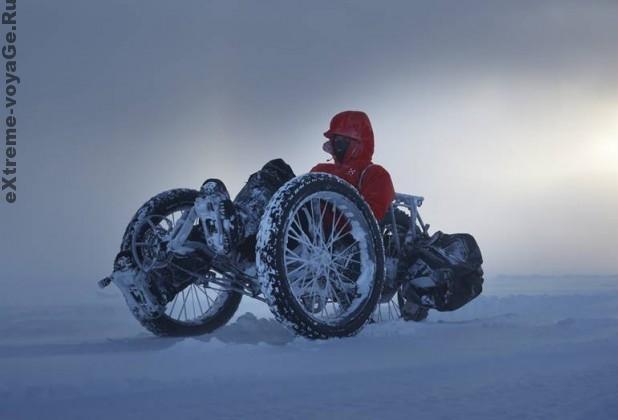 Экстремальные путешествия: на велотрайке - к Южному полюсу