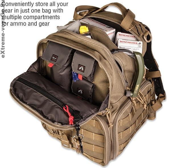 Боеприпасы в  NRA Pistol Backpack