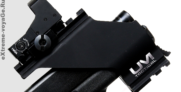 Снайперский прицел для пистолетов с планкой Пикатинни UM3