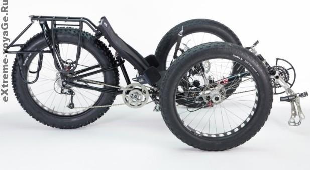 Велотрайк для покорения Южного полюса White ICE Cycle